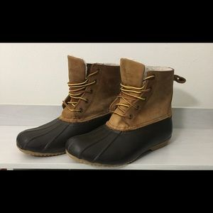Women's Duck Bill Fleece Lined Boots
